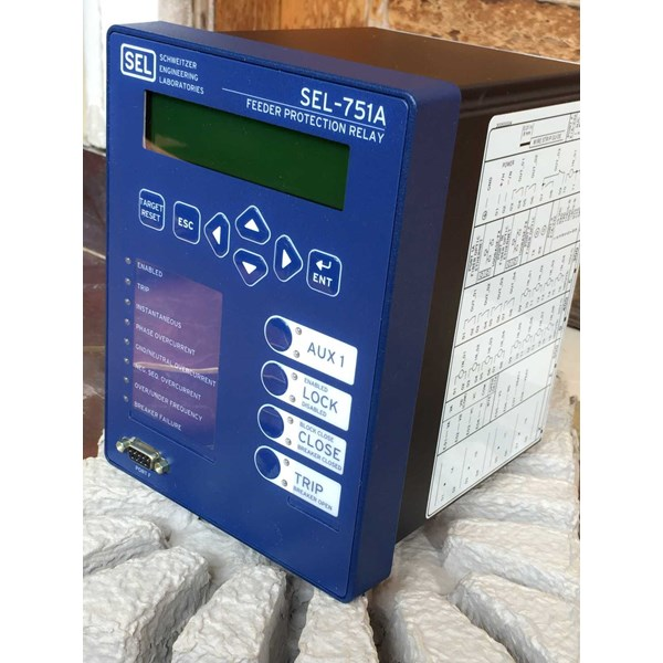 sel-751a feeder protection relay-4