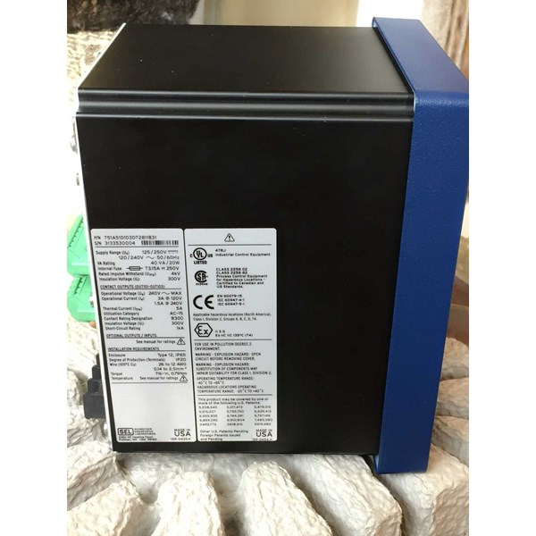 sel-751a feeder protection relay-1