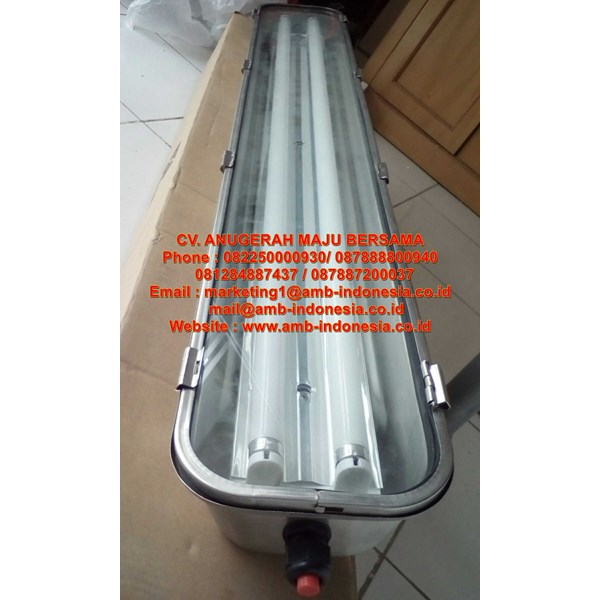 lampu tl ex proof stainless steel warom bjy flourescent lamp-5