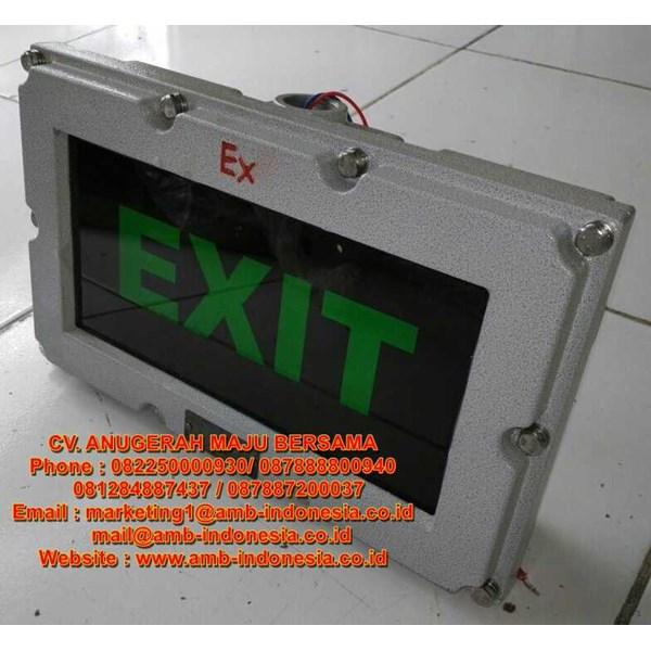 emergency exit ex proof helon bbd51 led exit signal lamp-1