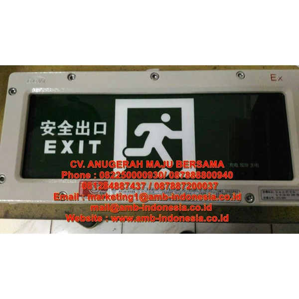lampu led emergency ex proof hrlm byy exit lighting -1