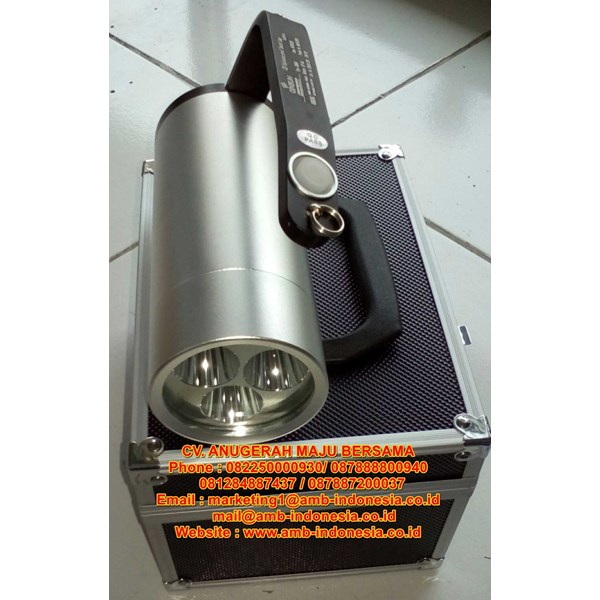 senter led ex proof rechargeable qinsun elm650 search lamp  -5