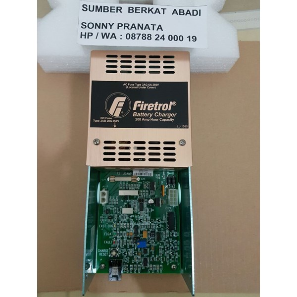 firetrol battery charger 200ah type 3ab 20a 250v-3