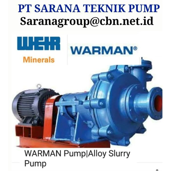 warman weir centrifugal pump pt sarana teknik pump