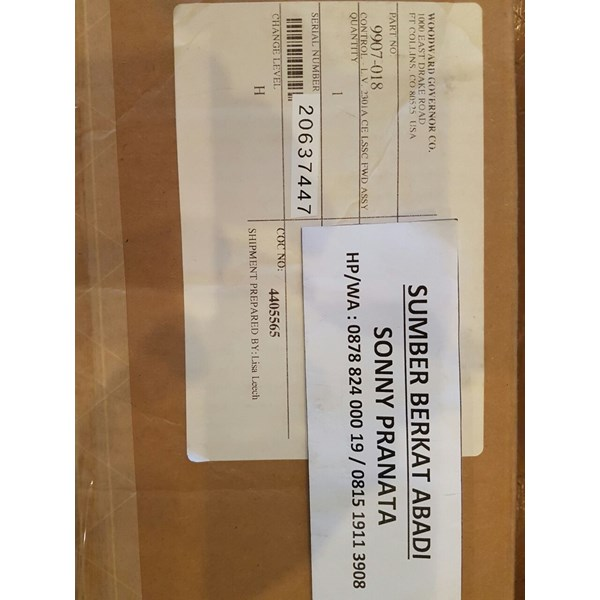 woodward 2301a load sharing and speed controls 9907-018-5