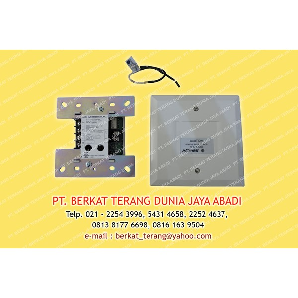 monitored output module for alarm bell & lamp nohmi
