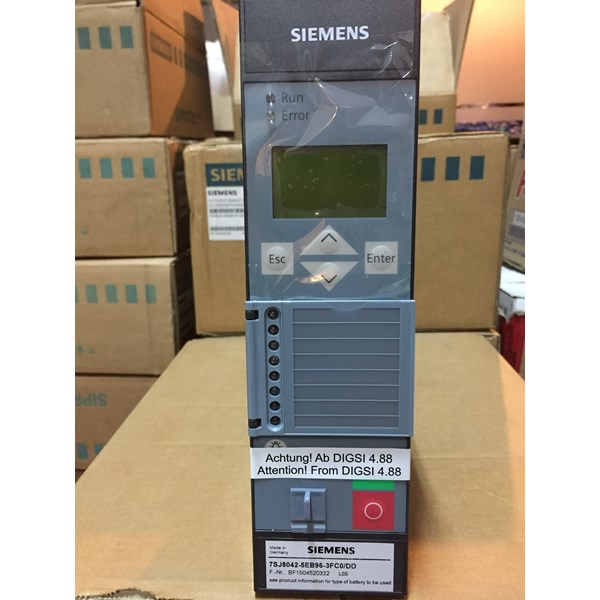 siemens siprotec 7sj8042-5eb96-3fc0/dd multifunction protection relay-3