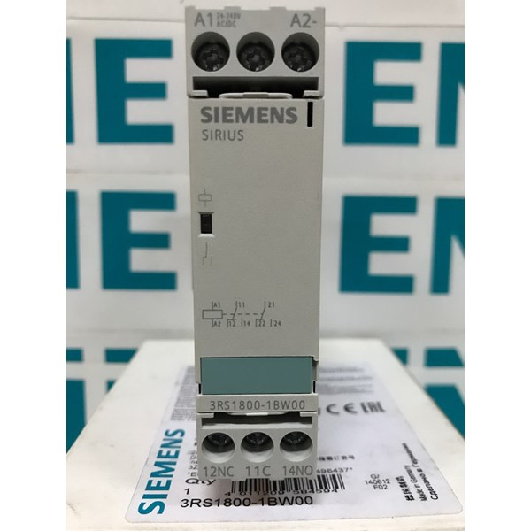 siemens sirius 3rs1800-1bw00 coupling relay with 2no/2nc-3