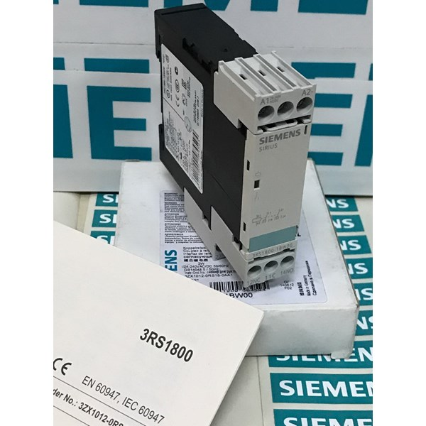 siemens sirius 3rs1800-1bw00 coupling relay with 2no/2nc-2