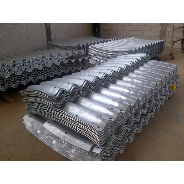 corrugated steel pipe armco type multi plate pipe arches-1