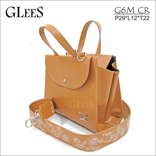 tas wanita, fashion, handbag glees g6m debora medium-1