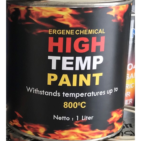 cat tahan panas 800 derajat - high temperature - heat resistant paint