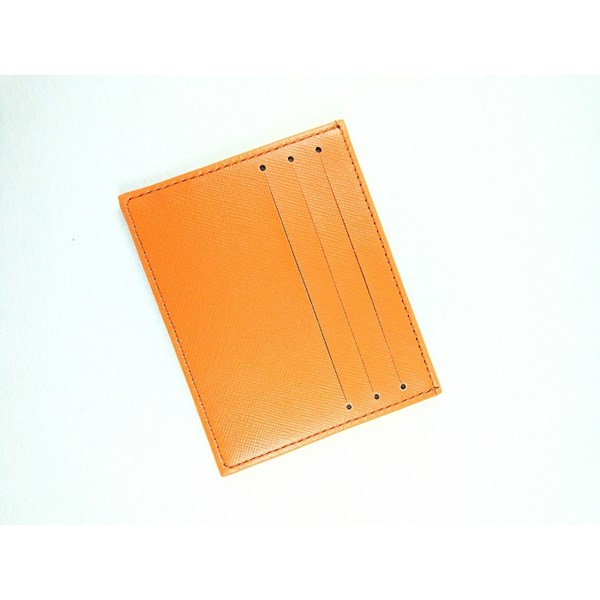 dompet kartu card holder card wallet dc 331 coklat