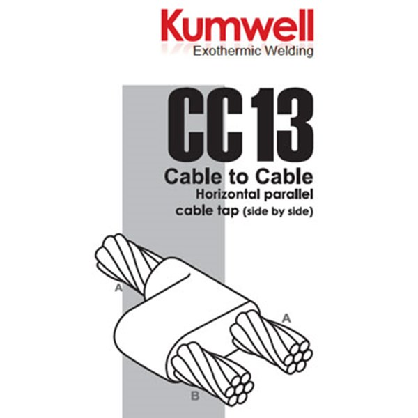 moulding kumwell cc13 - cable to cable-1