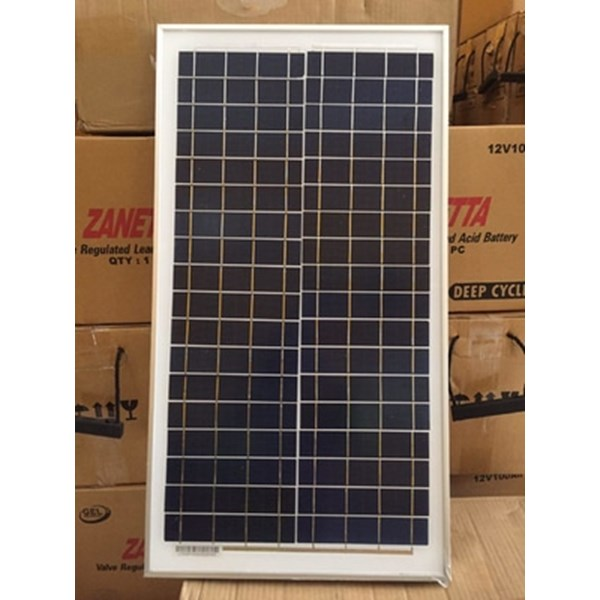 solar panel, solar cell, modul surya, panel surya 30wp poly murah-1