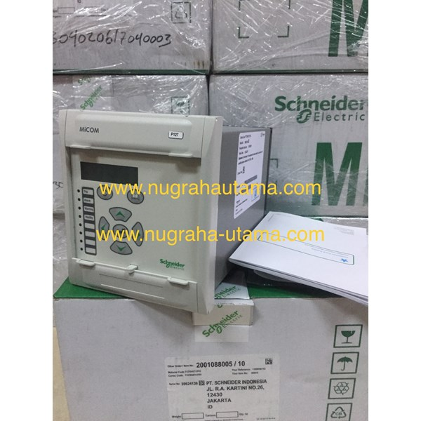 schneider micom p127 over current & earth faulth protection relays-3