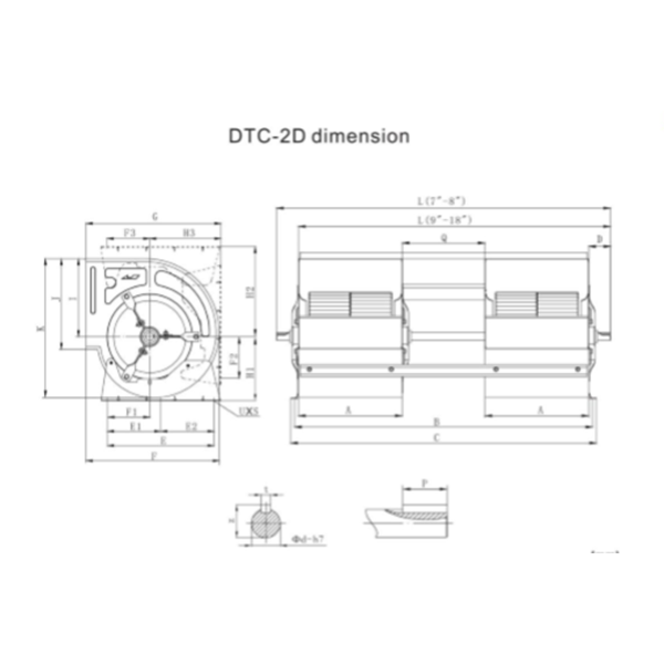 dtc 2d dimension