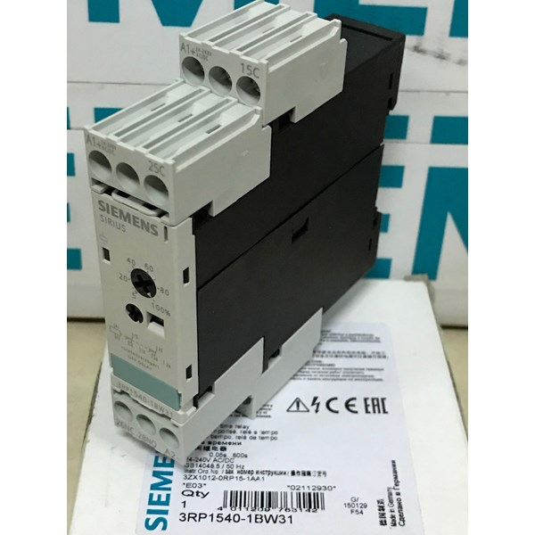 siemens 3rp1540-1bw31 off delay single timer relay-1