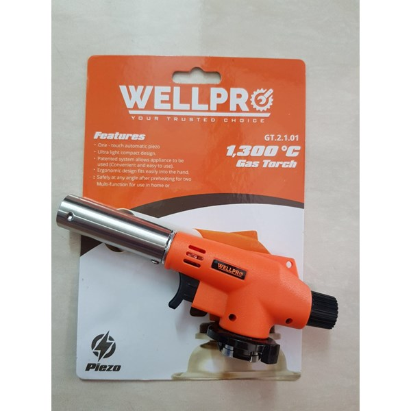 gas torch wellpro type 2101 new product cheap prize (harga murah)