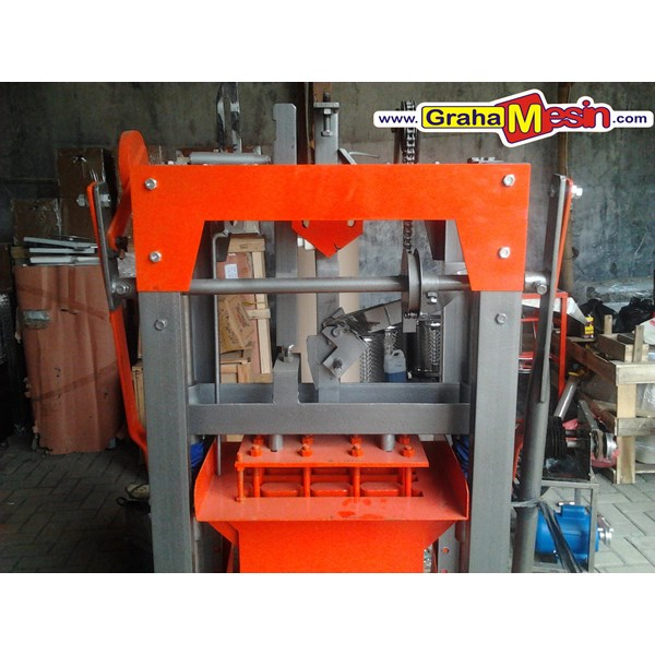 mesin press paving dan cetak batako manual-1