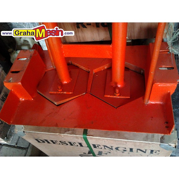 mesin press paving dan cetak batako manual-2