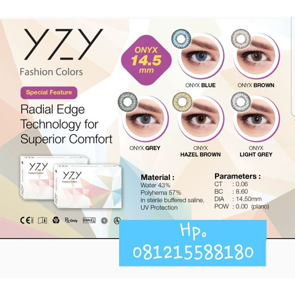 soflens yzy onyx brown,grey,hazel brown,light brown-1