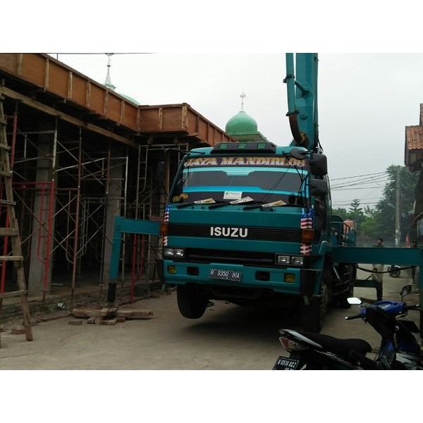 rental concrete pump mini / pompa kodok (fortable)-2