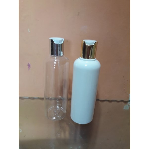 botol 250ml press on gold/silver