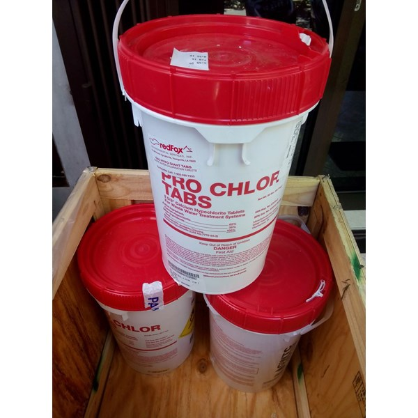 500-1 pro chlor tabs-calcium hypochlorite hydrated-1