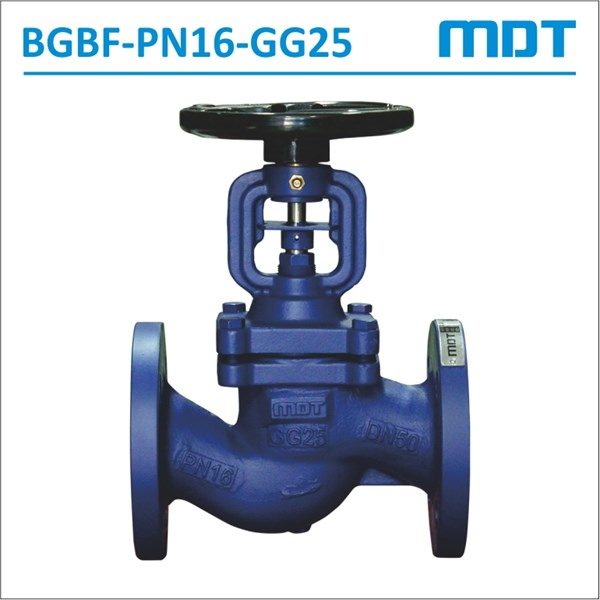 mdt | bgbf-pn16-gg25 | bellows seal globe valve, gg25, pn16-2