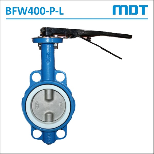 mdt | bfw400-p-l | butterfly valve, ptfe seat, lever-2