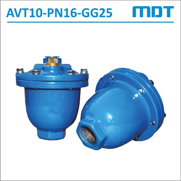 mdt | avt10-pn16-gg25| automatic air vent, gg25, pn16-2