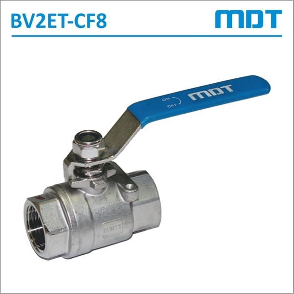 mdt | bv2et-cf8 | 2-pcs ball valve, cf8, full bore-2