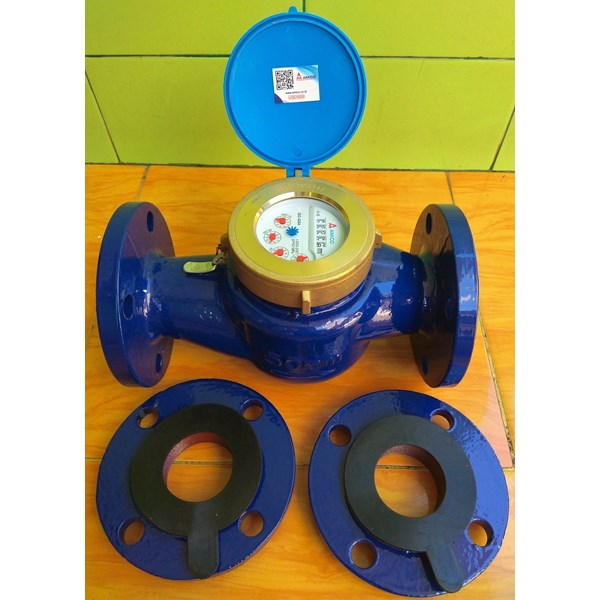 water meter amico 2 in / meteran air amico 2 in-1