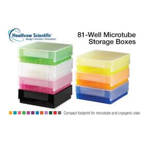 jual 81-well microtube storage boxes
