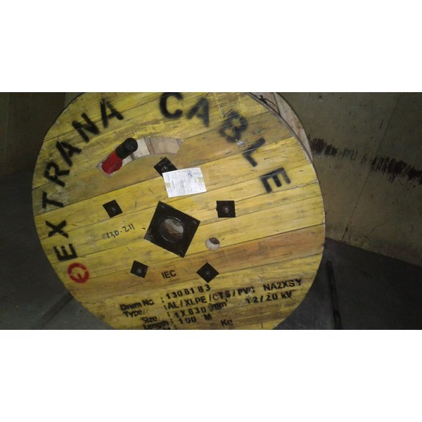 kabel extrana xlpe 20 kv n2xsy 1x630 mm
