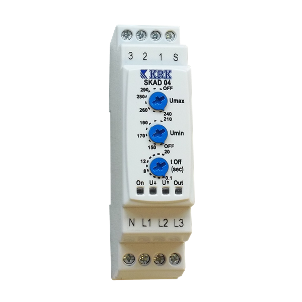 under & over voltage protection relay krk skad04