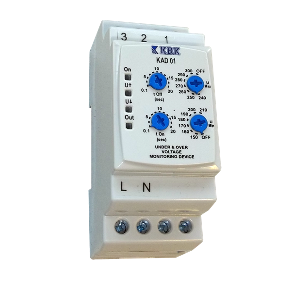 under & over voltage protection relay krk kad01