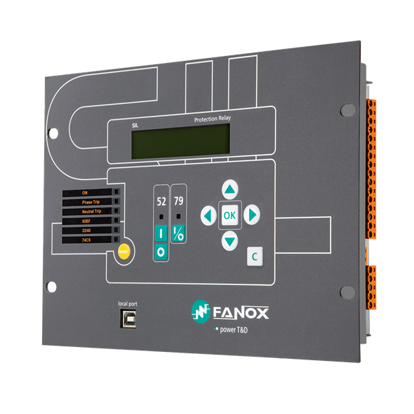 sil-b feeder protection relays (fanox)