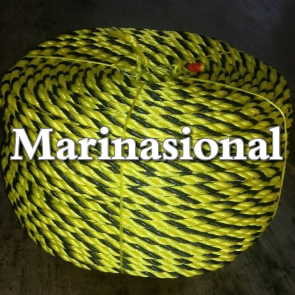 tiger rope black/yellow 3cir x 200 mtr