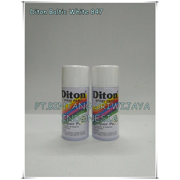 diton 847 baltic white cat semprot/pylox