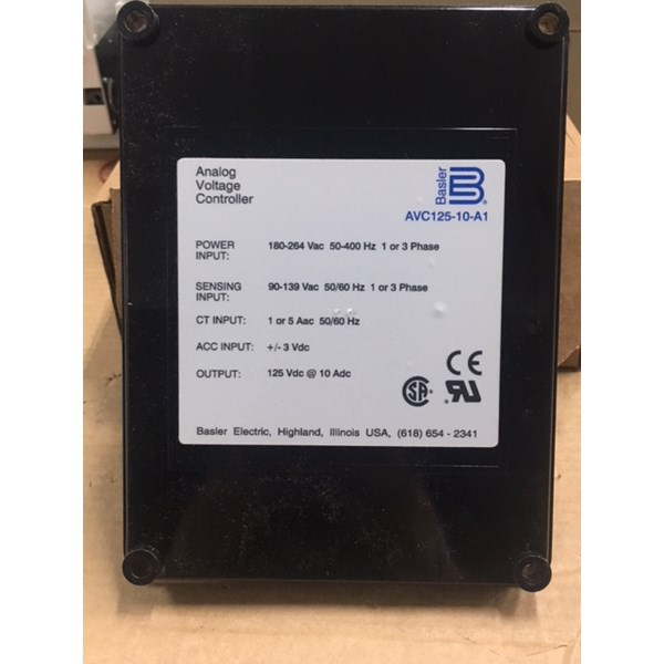 analog voltage controller basler avc125-10-a1-1