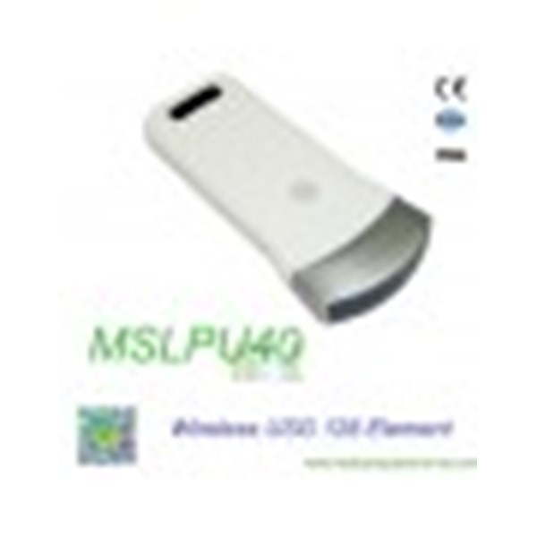 wireless ultrasound : wireless ultrasound probe ipad mslpu40