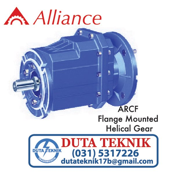 alliance helical gear (flange mounted) arcf/ trcf