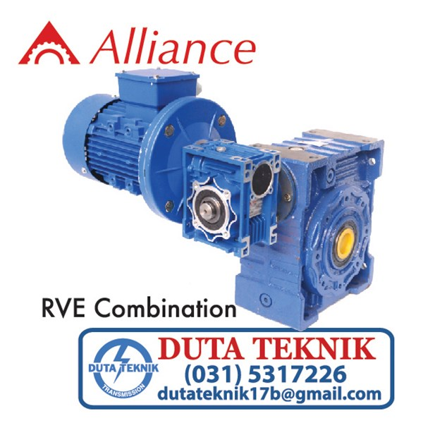 alliance wormgear rve combination