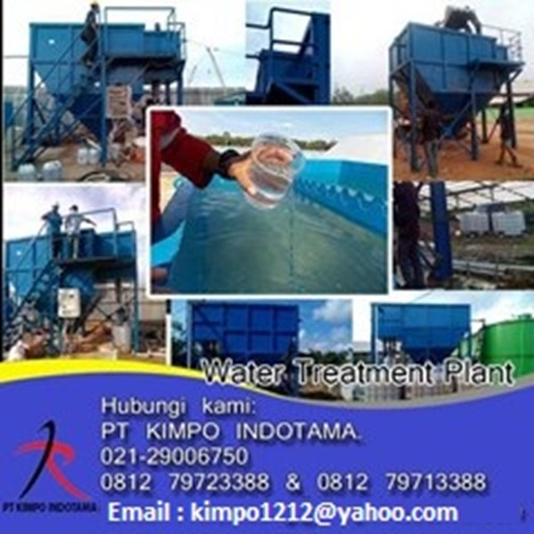 jual clarifier for water treatment plant-1