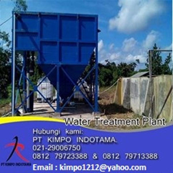 jual clarifier for water treatment plant-2