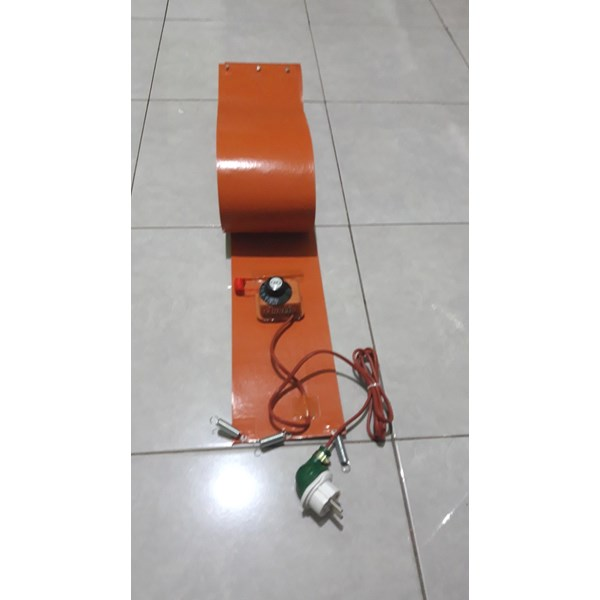 drum heater-silicon rubber heater-silicone heating-6
