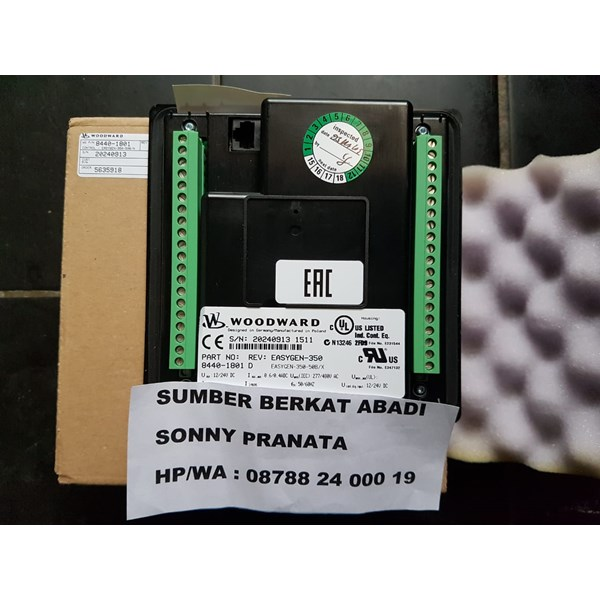 woodward easygen 350 ats amf part number 8440-1801-1