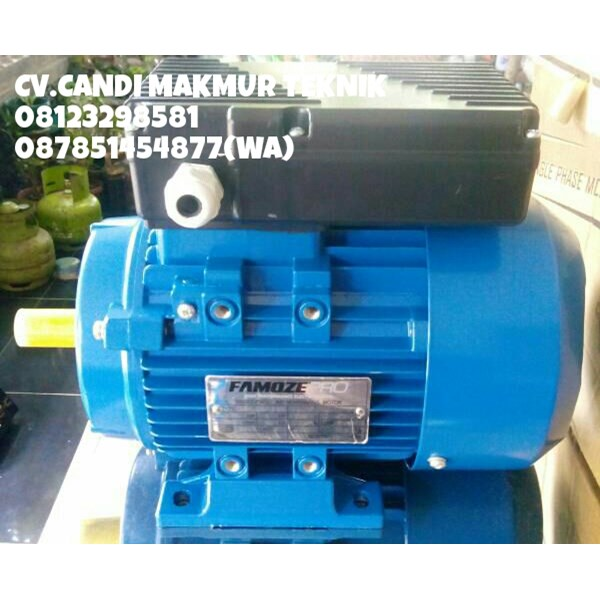 jual induction motor single phase